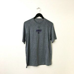 Under Armour Raiders Graphic Tee Shirt Active Gray